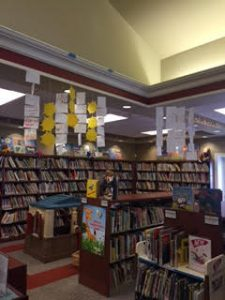 Poetry Project Display at Glen Rock Library